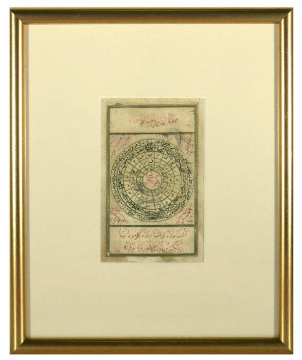 Islamic Talisman Prayer, Dairat al Sama
