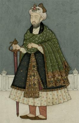 Miniature Painting of Mughal Emperor, Nasir-ud-Din Humayun 3