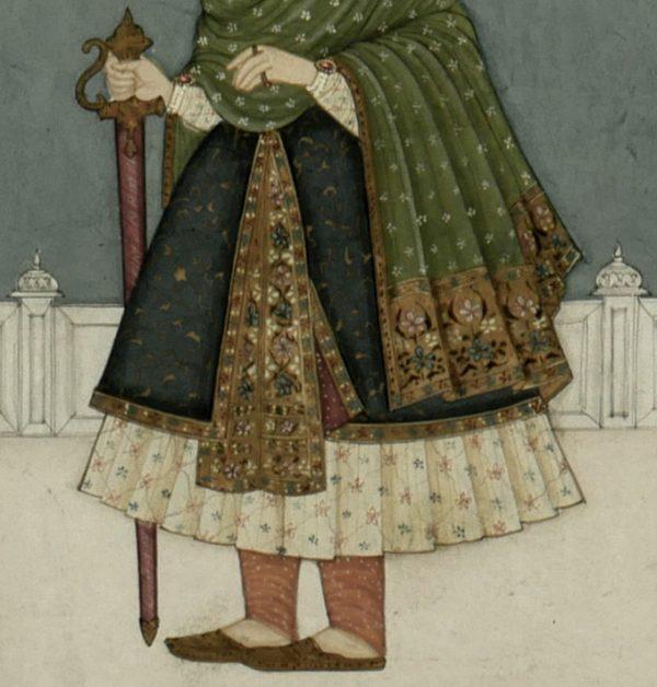 Miniature Painting of Mughal Emperor, Nasir-ud-Din Humayun 5