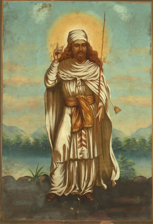 Painting of Zarathustra 2