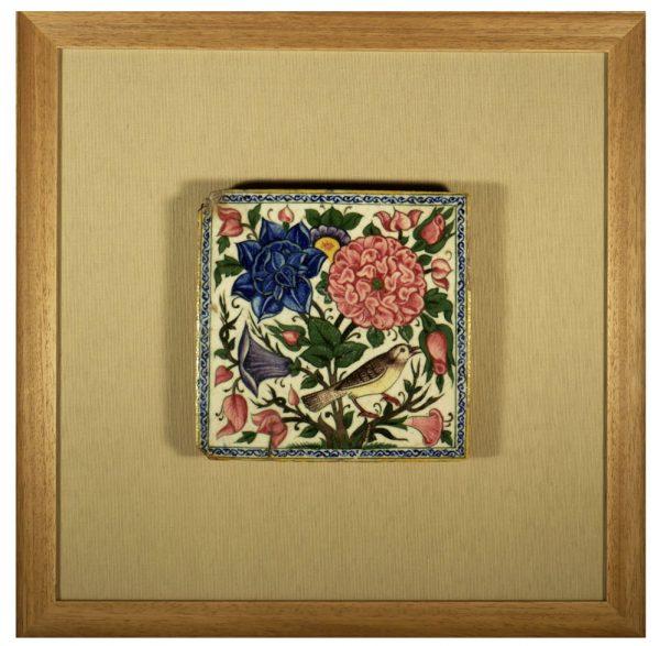 Safavid Persia Tile, Golo Murg