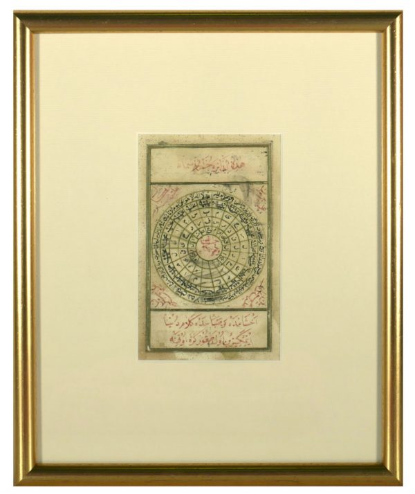 Islamic Talisman Prayer, Dairat al Sama