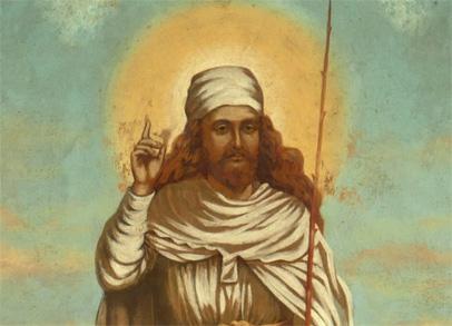 Painting of Zarathustra 4